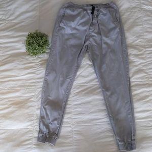 🌟2 for $20🌟 AEO grey mens jogger pants